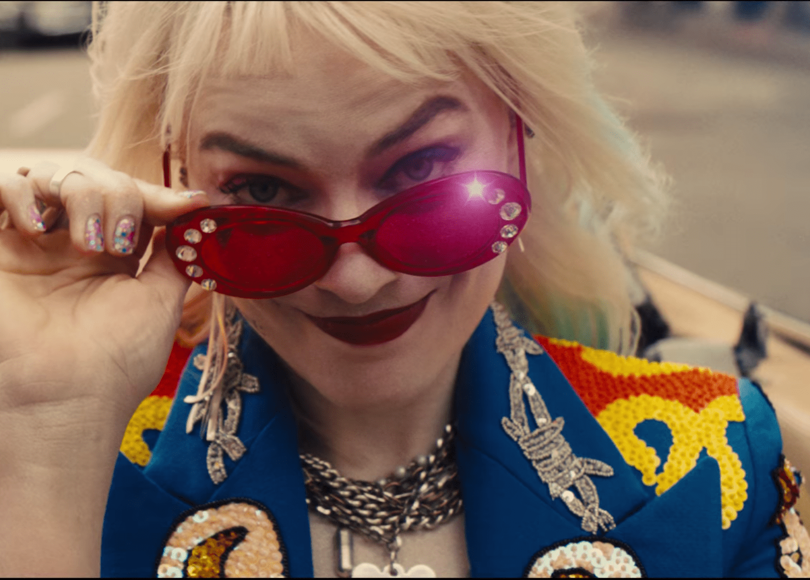 New 'Birds of Prey' Harley Quinn trailer features roller derby and a Hyena named Bruce Wayne