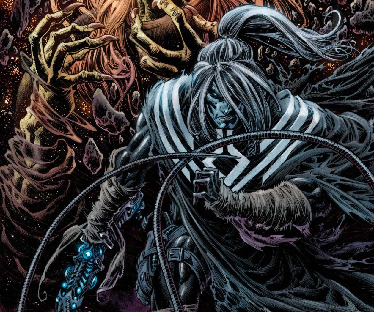 EXCLUSIVE Marvel First Look: Web of Venom: Wraith one-shot