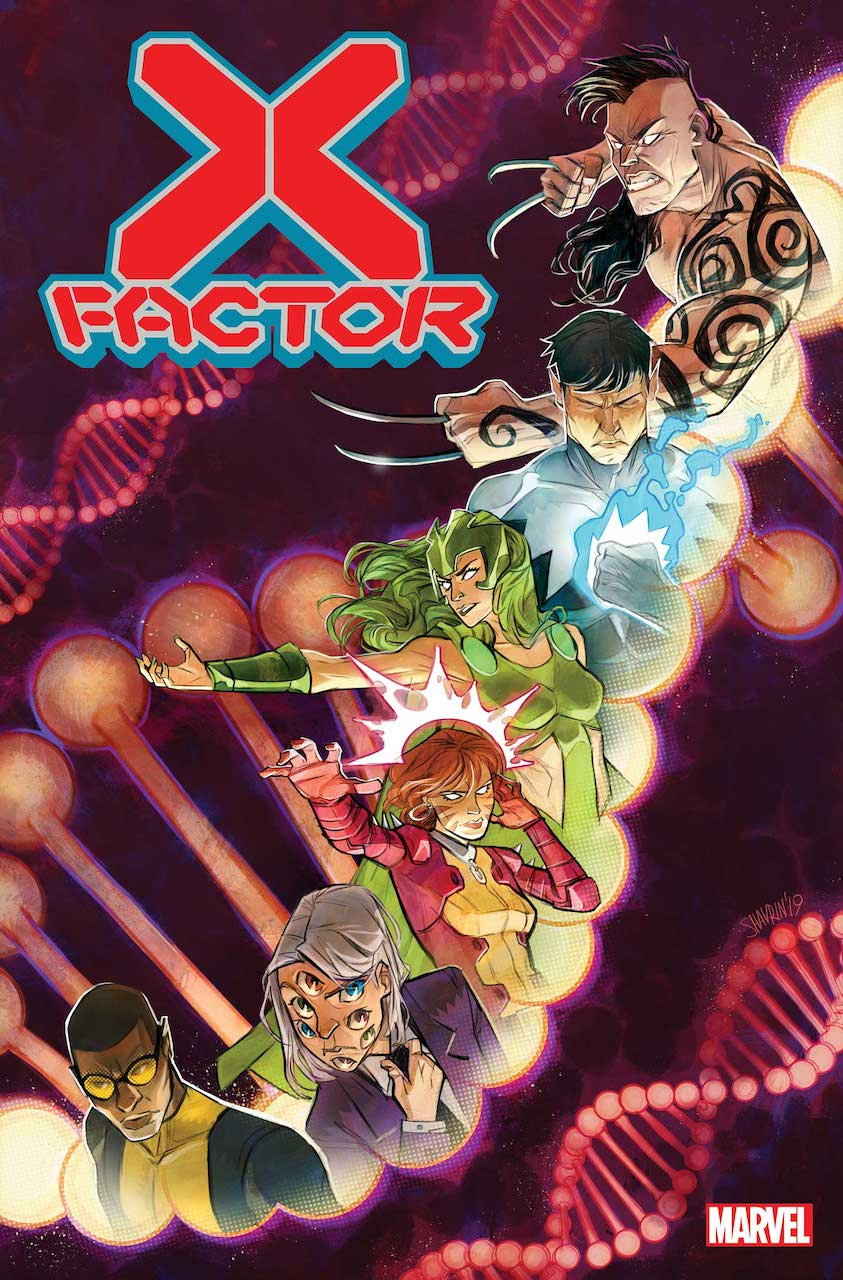 Marvel Comics releases 'X-Factor' trailer featuring Leah Williams, Jordan D. White, and Annalise Bissa