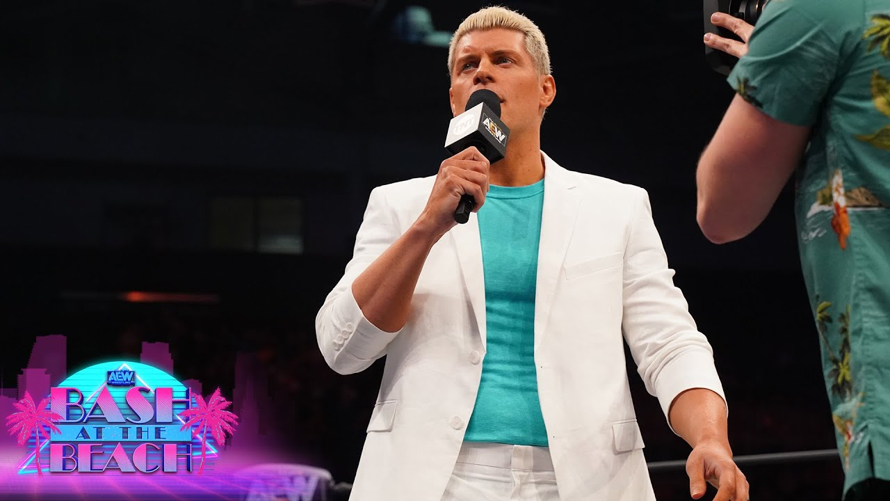 Cody Rhodes at Bash at the Beach