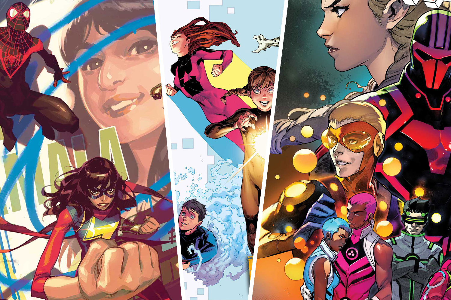 Marvel reveals Champions, Power Pack, and New Warriors getting new series this April