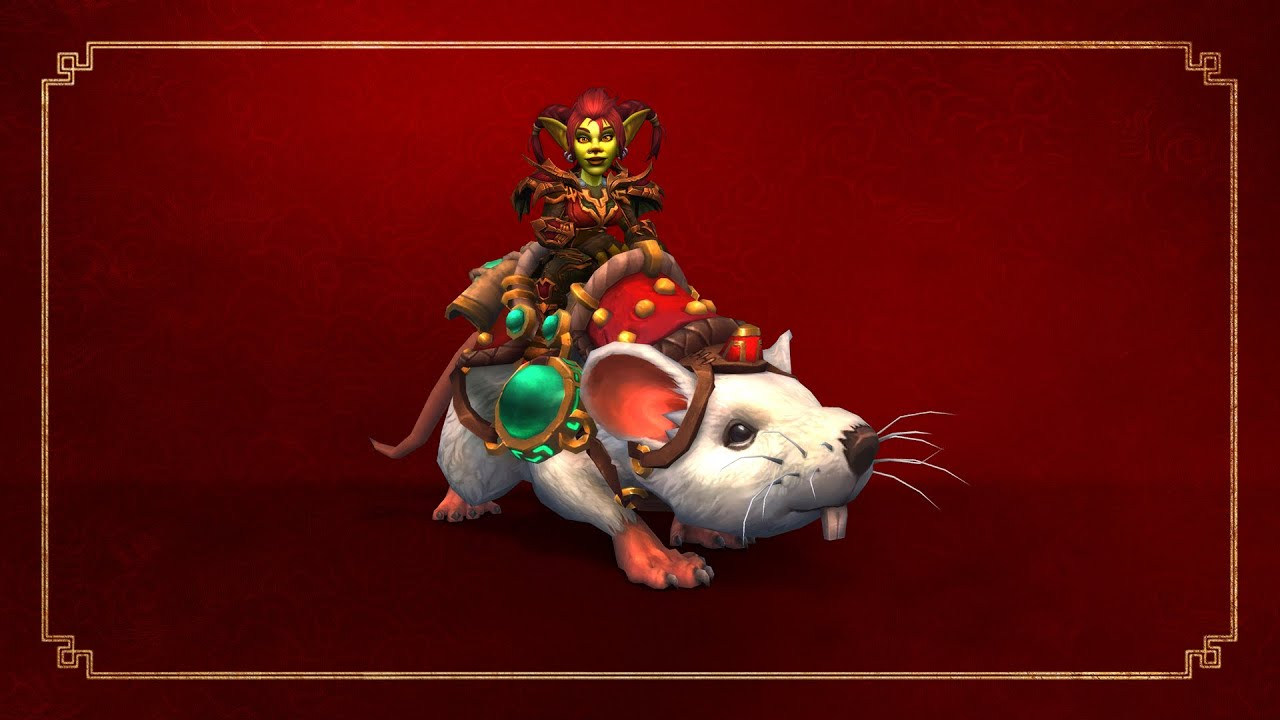 Buy a 6 month WoW subscription, receive a flying rat mount