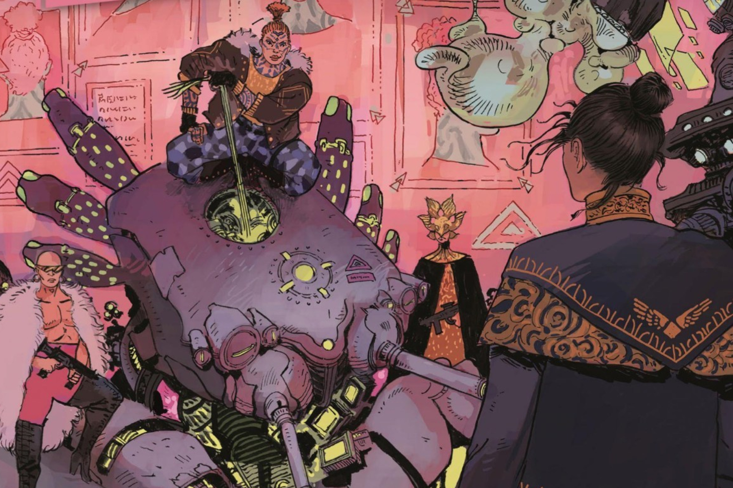 Warlords and chaos: Johnnie Christmas and Jack T. Cole talk new series 'Tartarus'