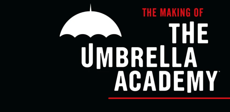 Season 2 of Netflix's The Umbrella Academy is sadly not here yet. Heck, we still don't even have a the release date! But don't let that get you down, for Dark Horse and Netflix have a little something to hold fans over while they not so patiently wait -- The Making of The Umbrella Academy. This isn't just any ole art book, you're getting a sleek hardcover with 200+ pages of behind-the-scenes images, commentary from showrunner Steve Blackman, and more.