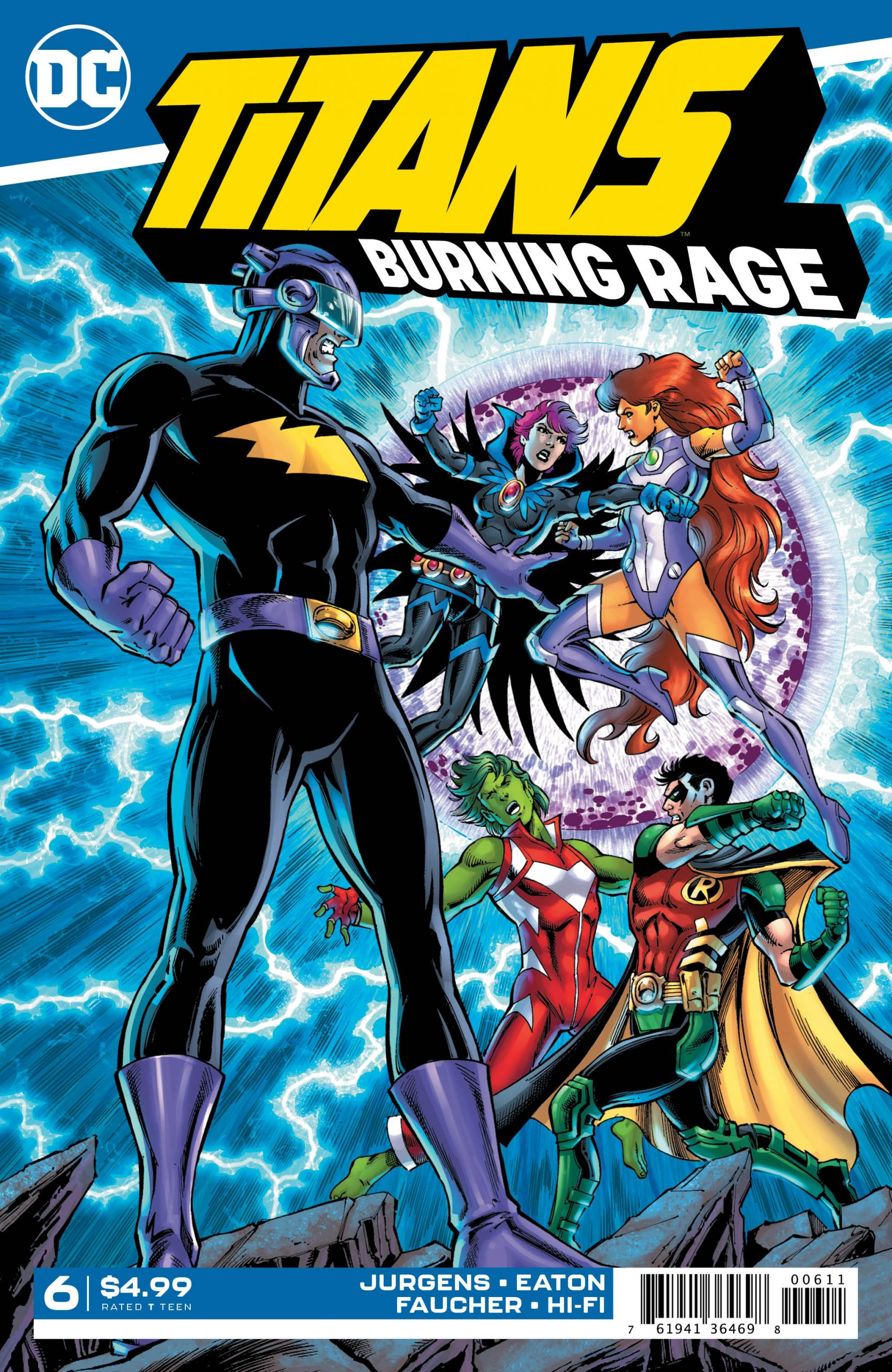 DC Preview: Titans Burning Rage #6