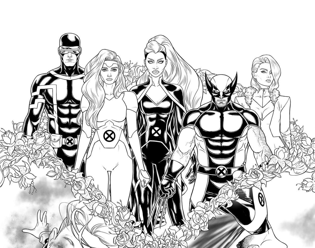 X-Men First Look: Giant-Sized X-Men: Jean Grey and Emma Frost