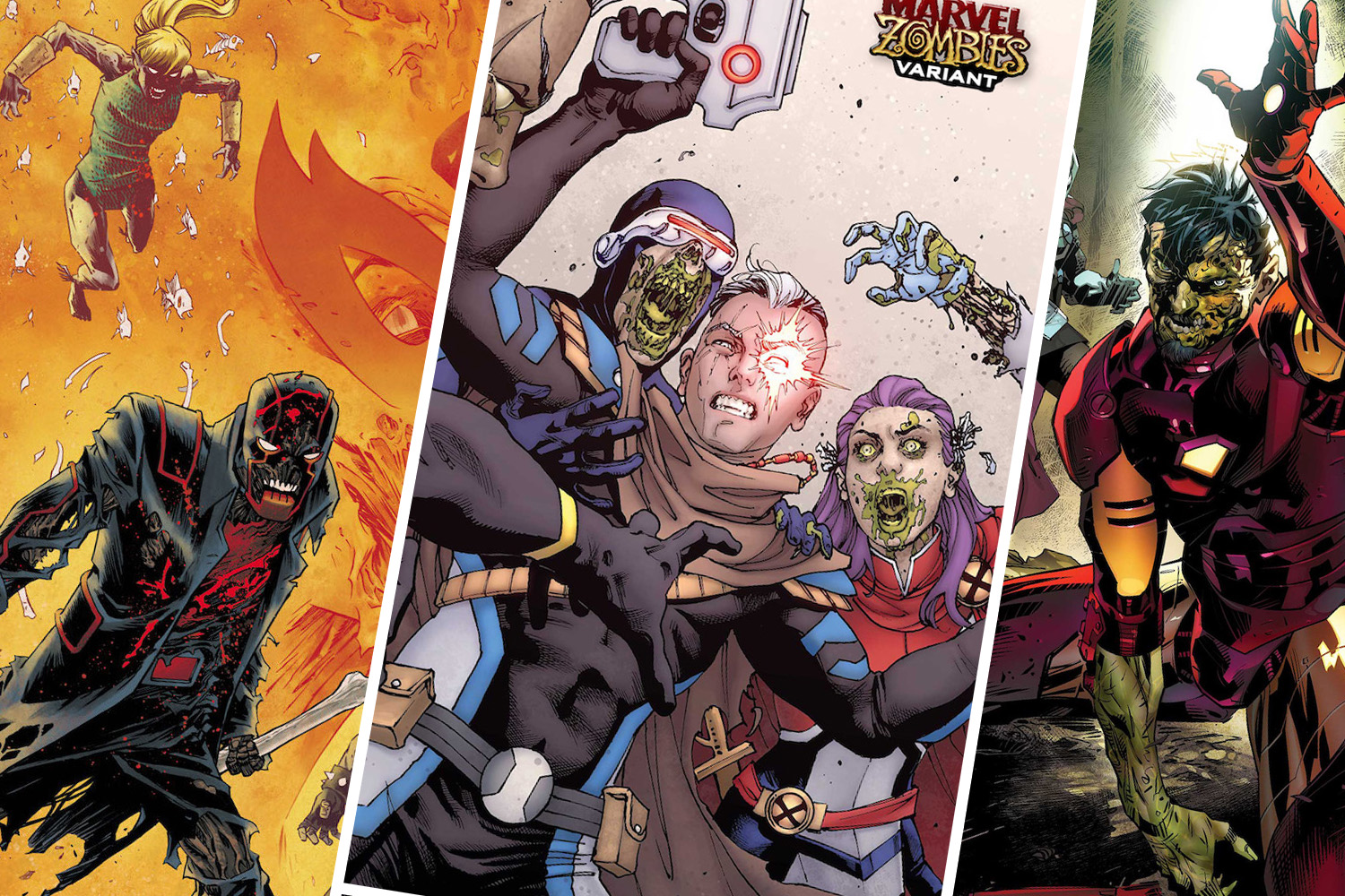 Marvel Zombies invade April 2020 variant covers