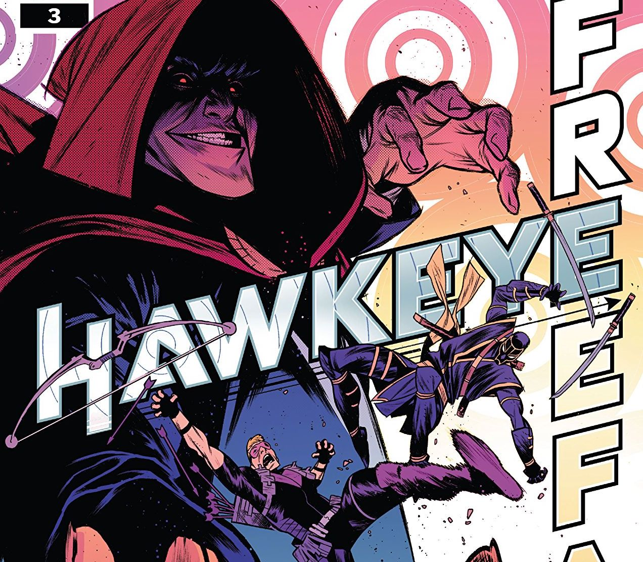 Hawkeye: Freefall #3 Review