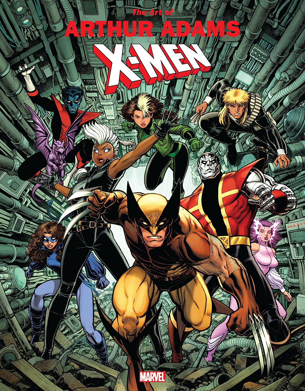 Marvel Monograph: The Art of Arthur Adams - X-Men review