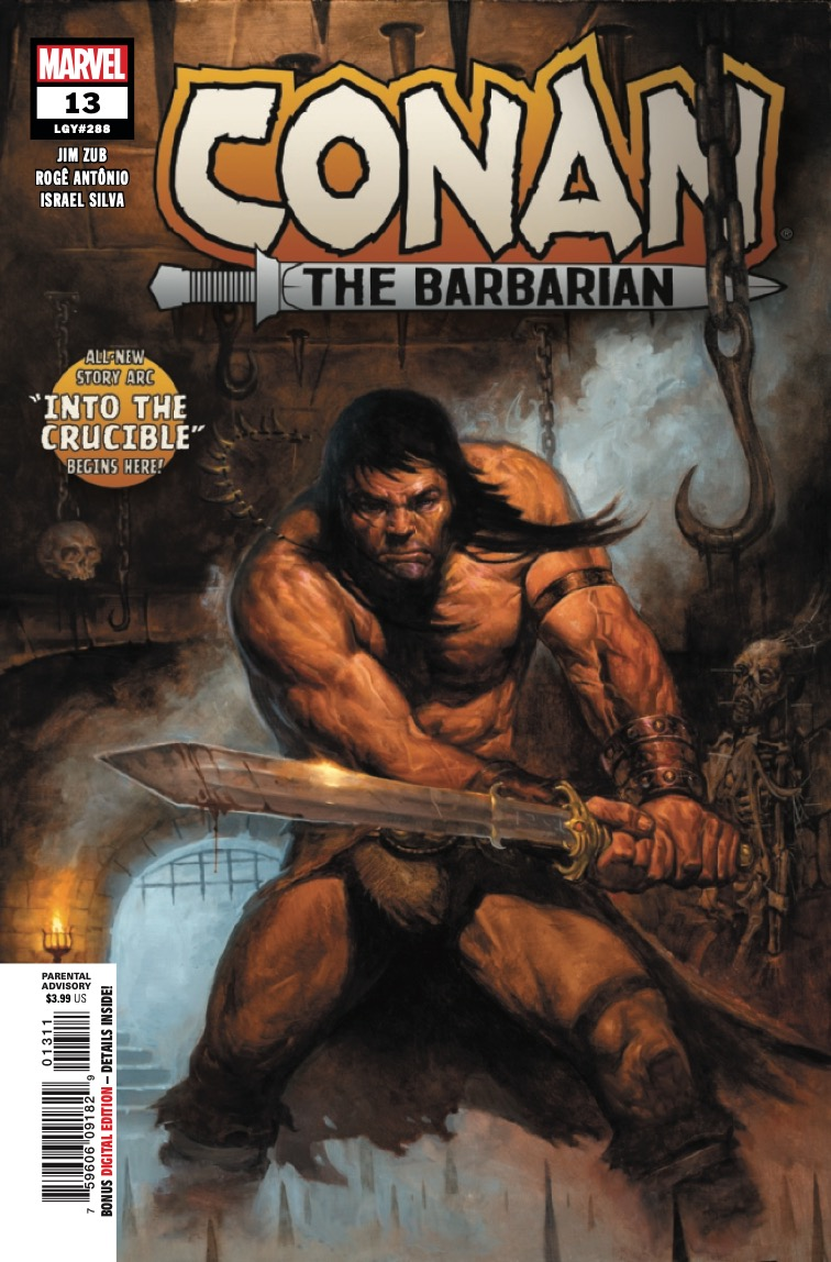 Conan has faced many foes since leaving Cimmeria, but the greatest challenge lies ahead!