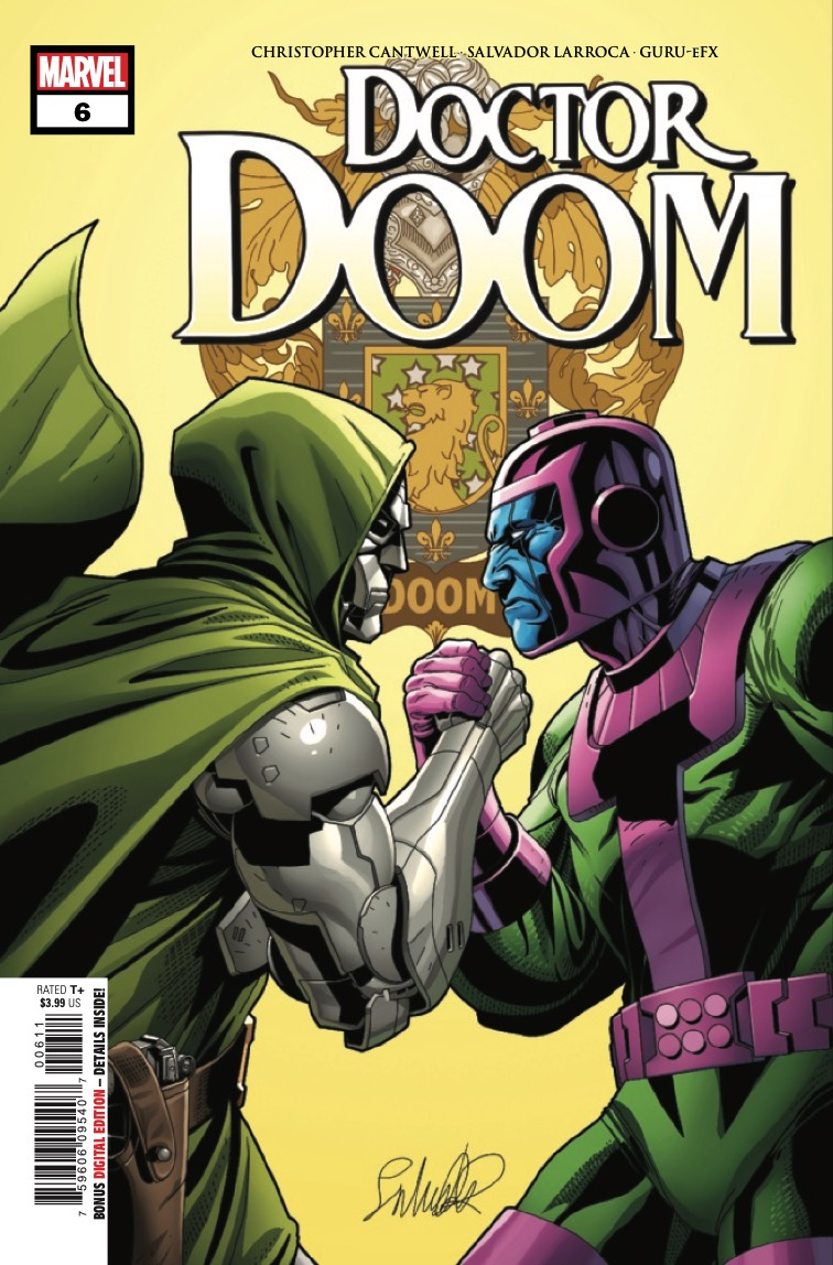 Marvel Preview: Doctor Doom #6