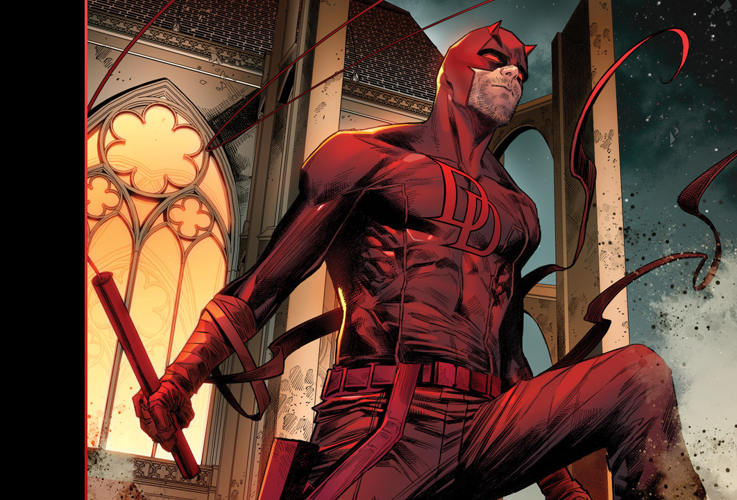 """Marvel Comics proclaims """"Daredevil is back in red this May"""" with Daredevil #21 teaser"""