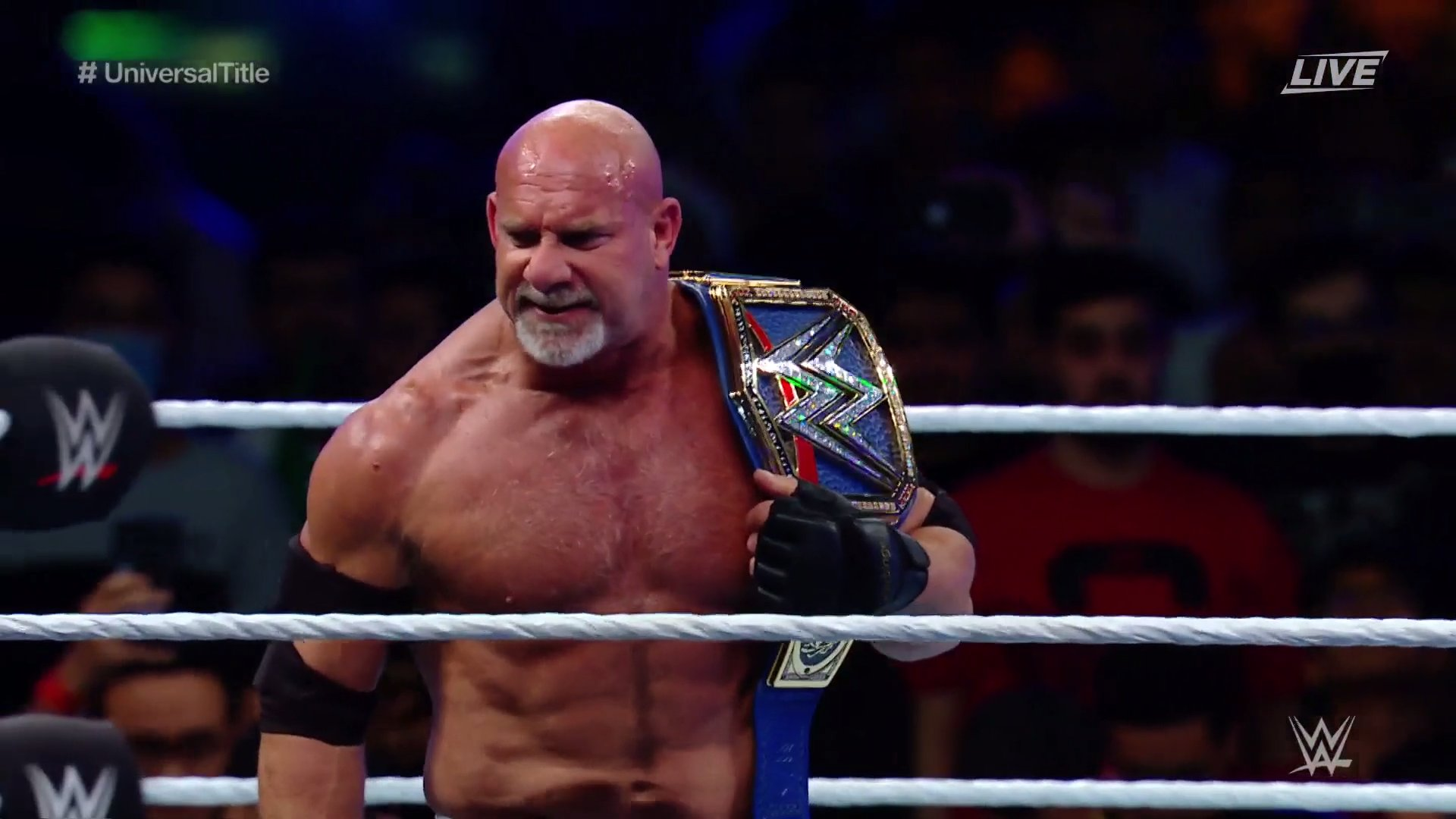 Goldberg defeats The Fiend to become WWE Universal Champion