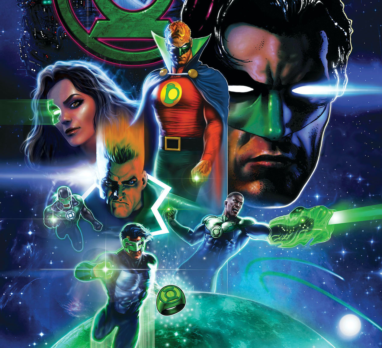 Green Lantern tales from a variety of comics greatest creators.