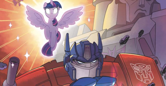 IDW announces 'My Little Pony / Transformers' crossover mini-series