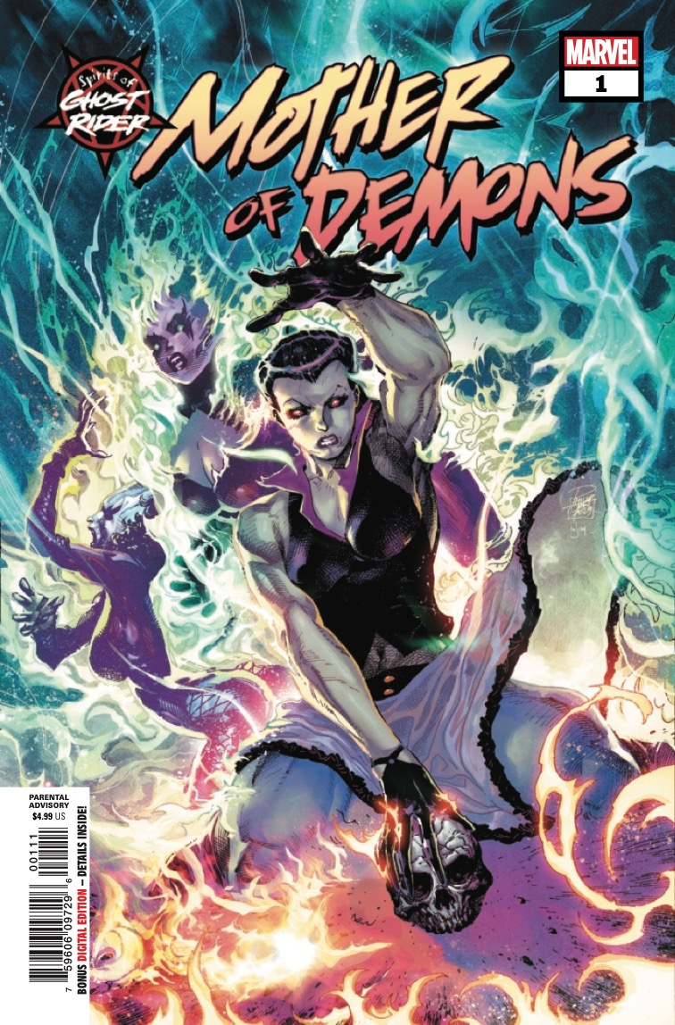 Marvel Preview: Spirits Of Ghost Rider: Mother Of Demons (2020) #1