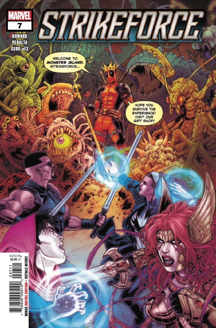 Marvel Preview: Strikeforce #7