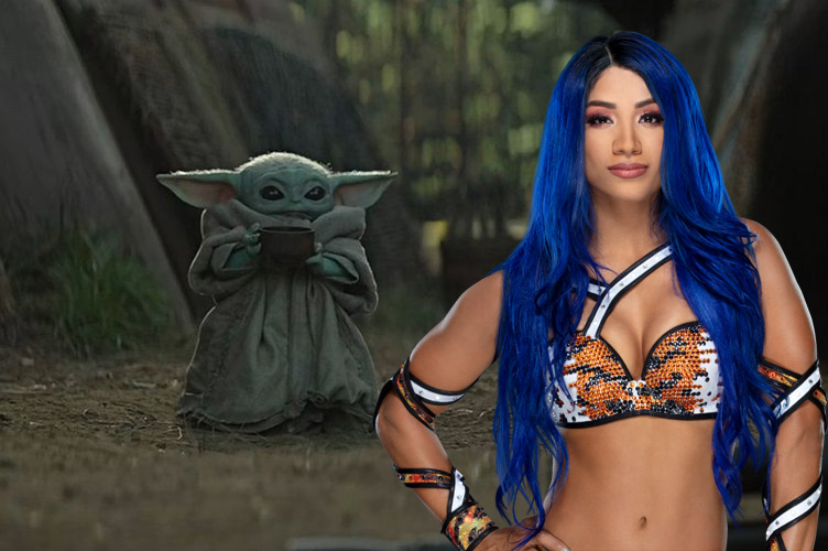 WWE's Sasha Banks is a Jedi in new 'The Mandalorian' trailer