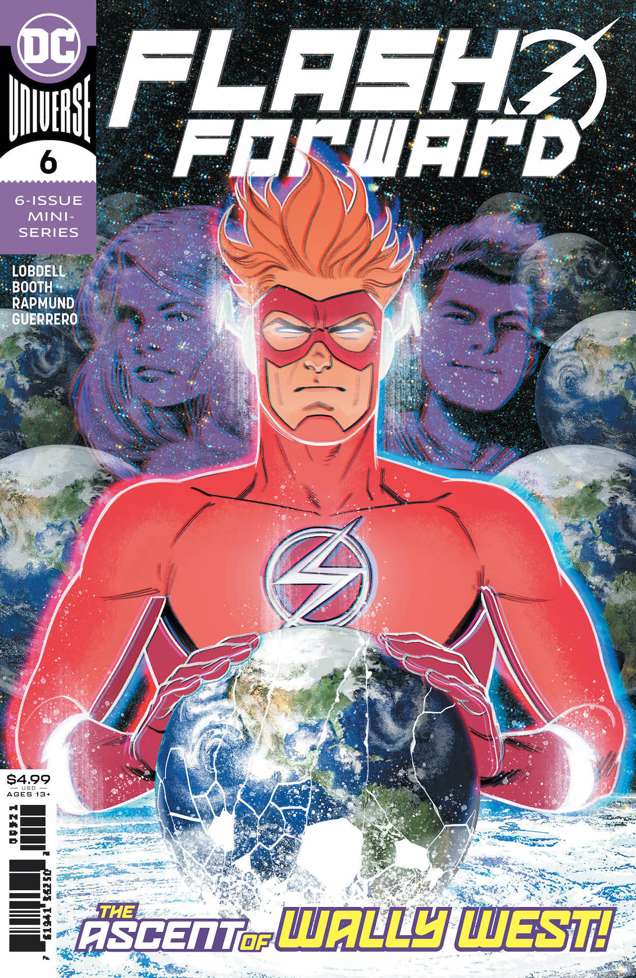 Wally West must make the toughest choice of his life: save the day, or save his family.