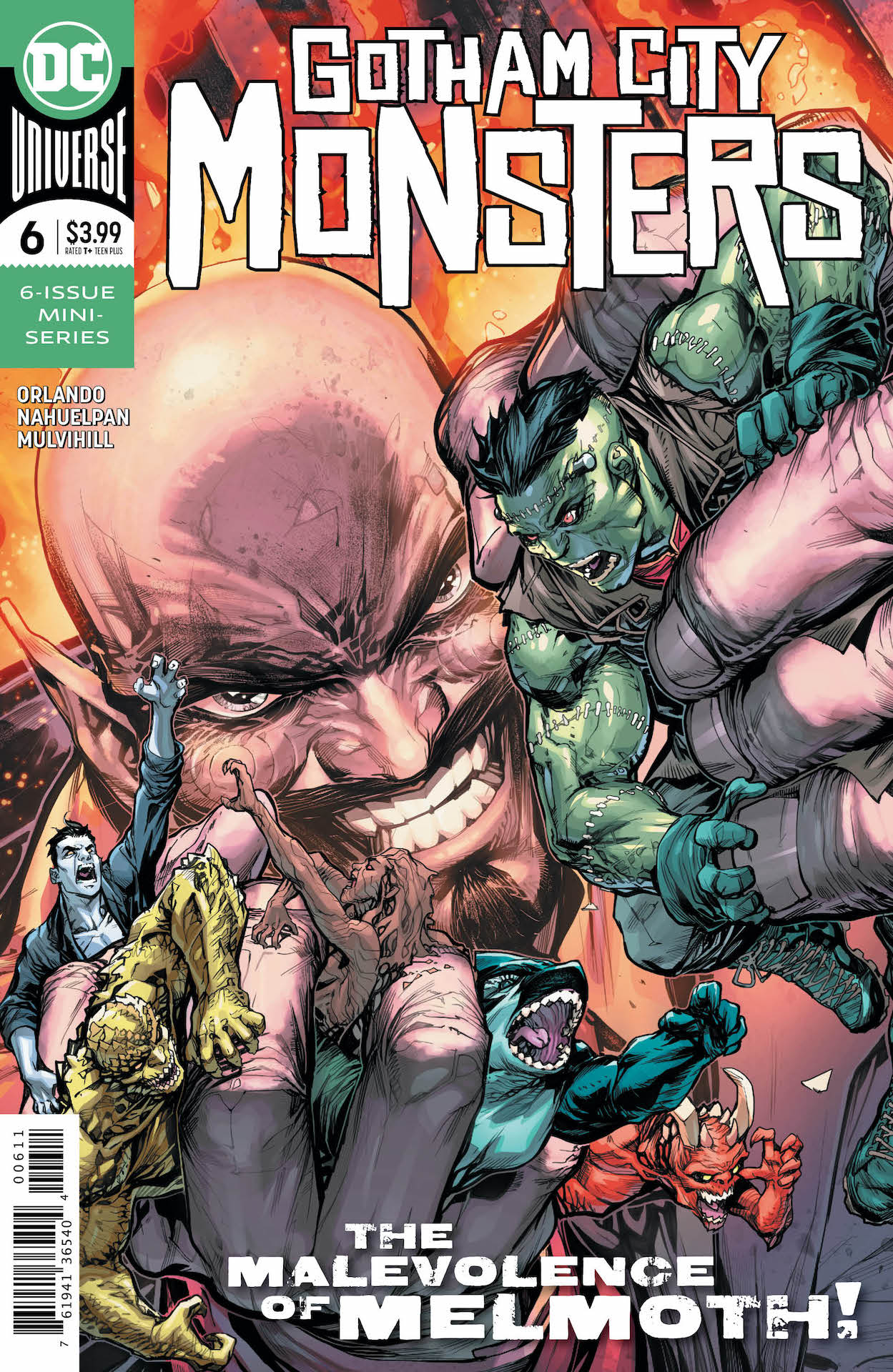 DC Preview: Gotham City Monsters #6