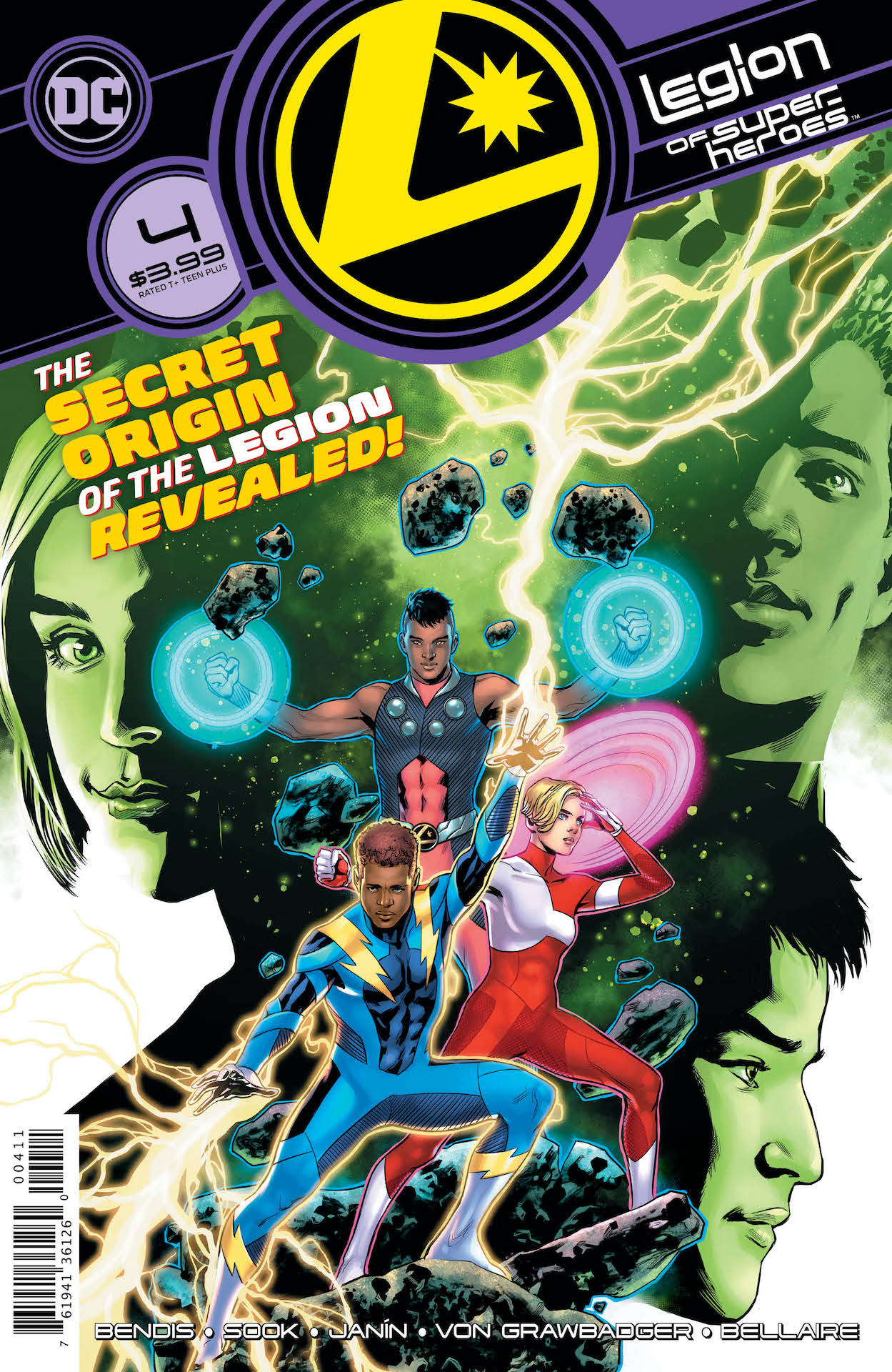 DC Preview: Legion of Super-Heroes #4