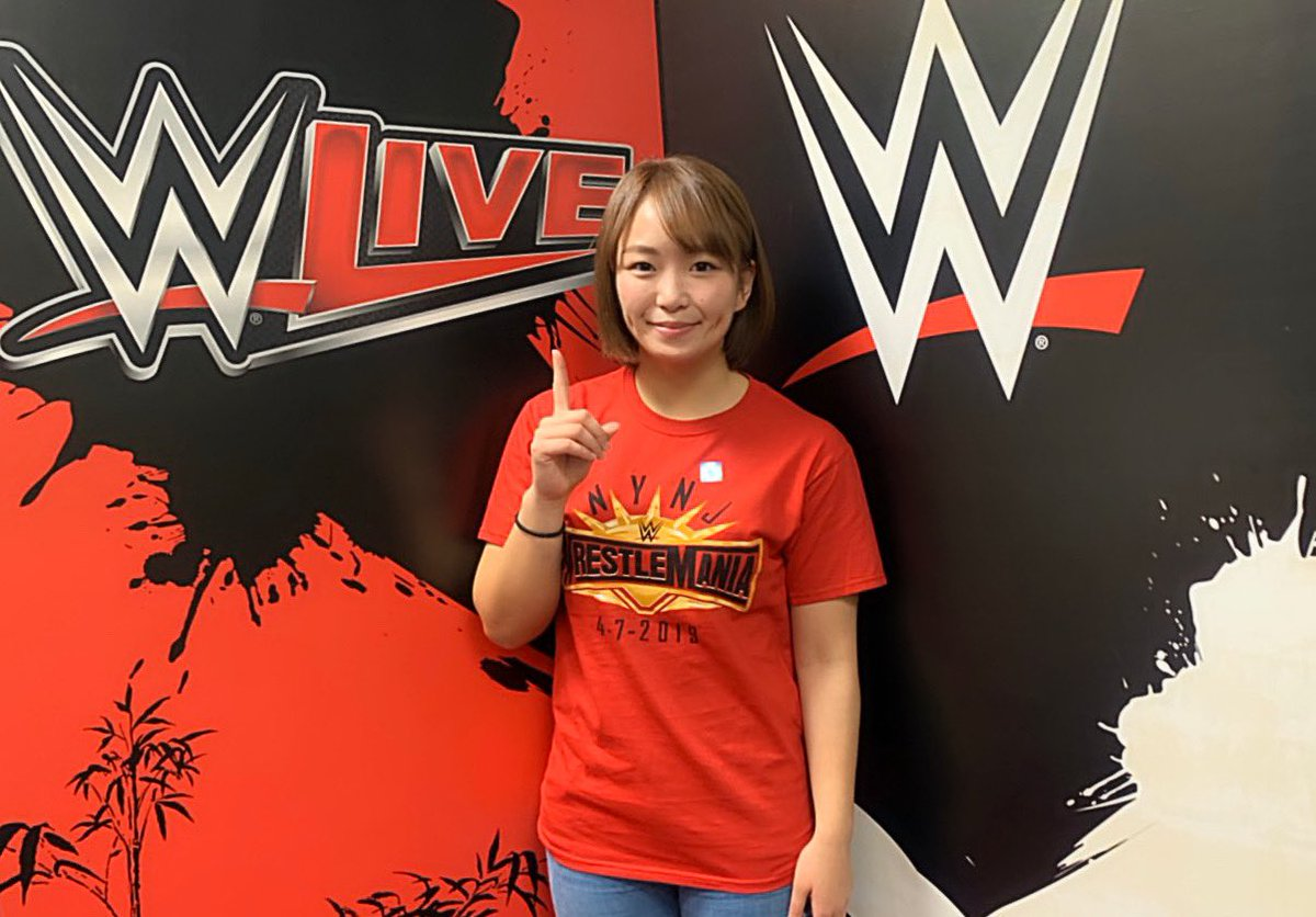 Japanese star Sareee announces signing with WWE