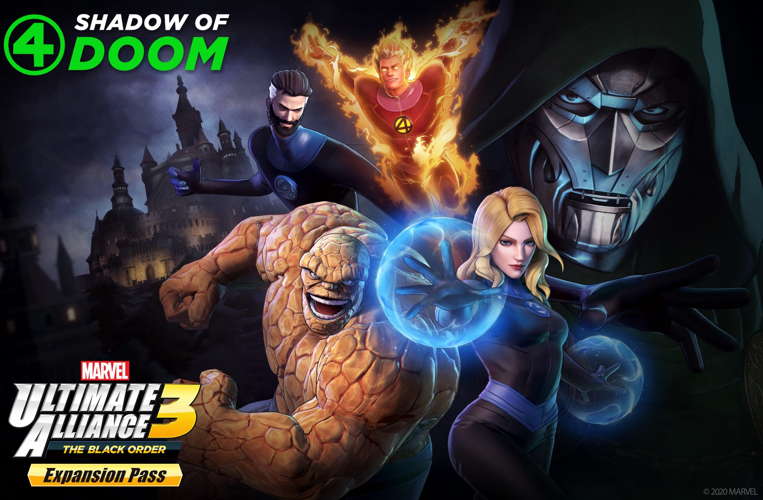 Marvel Ultimate Alliance 3: DLC Pack 3, Shadow of Doom releases on March 26th