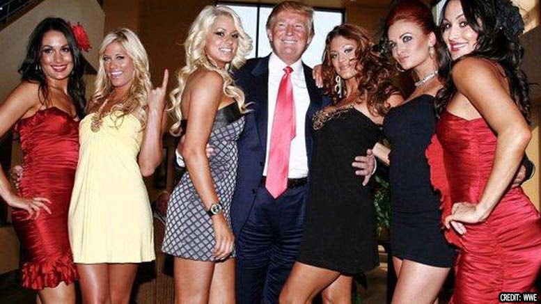 Donald Trump continues his trend of respecting women.