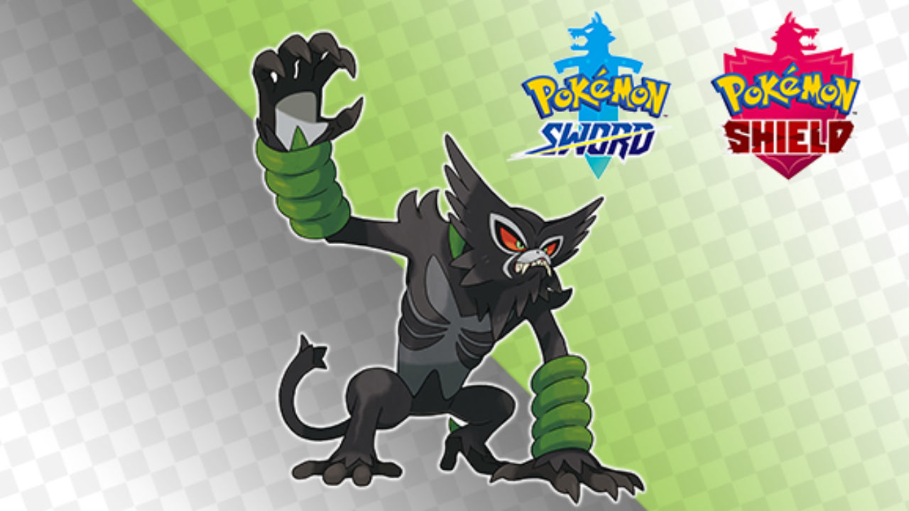 Zarude, the Rogue Mythical Monkey Pokemon revealed in 'Pokemon: Sword and Shield'
