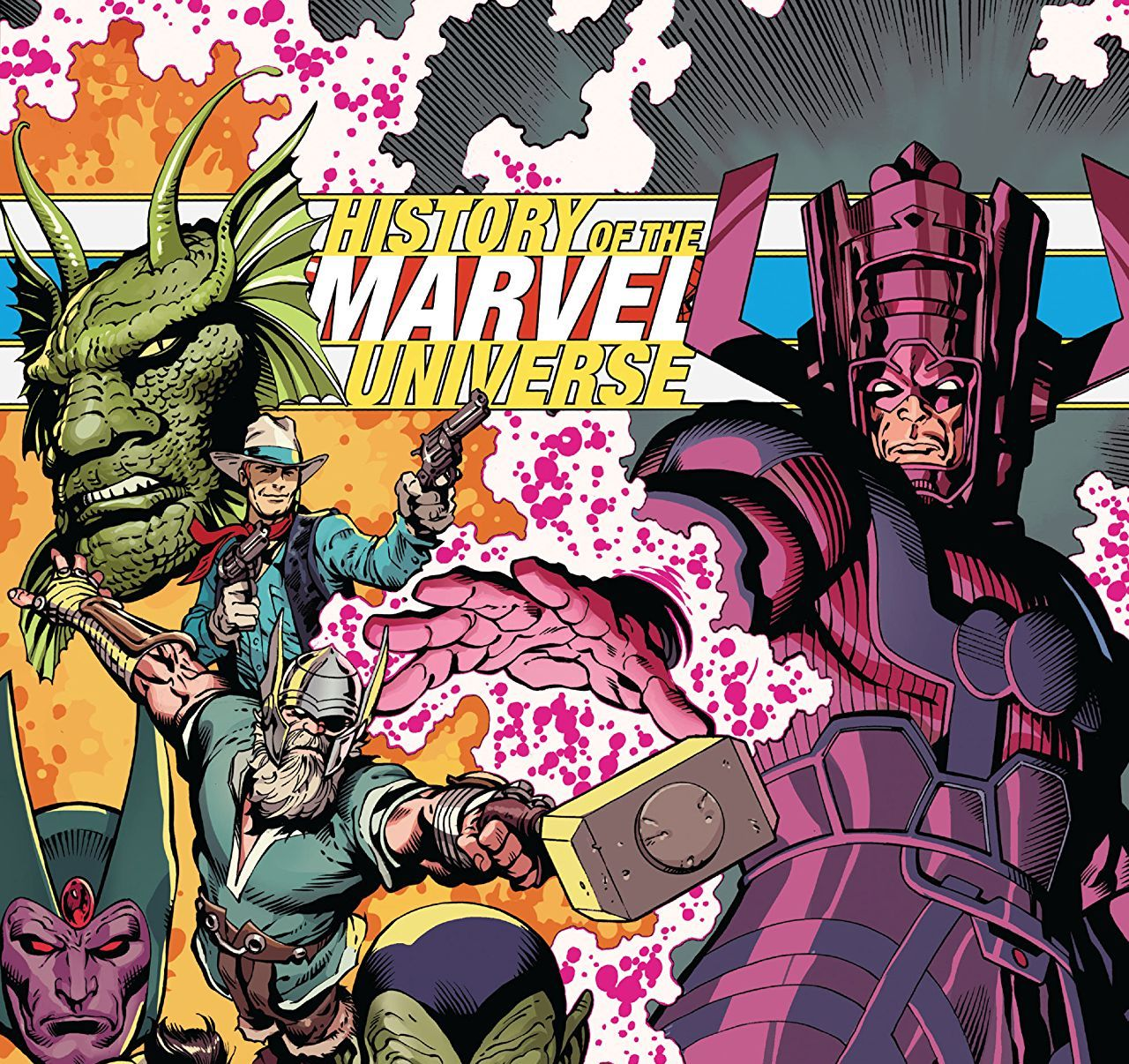 History of the Marvel Universe Treasury Edition Review