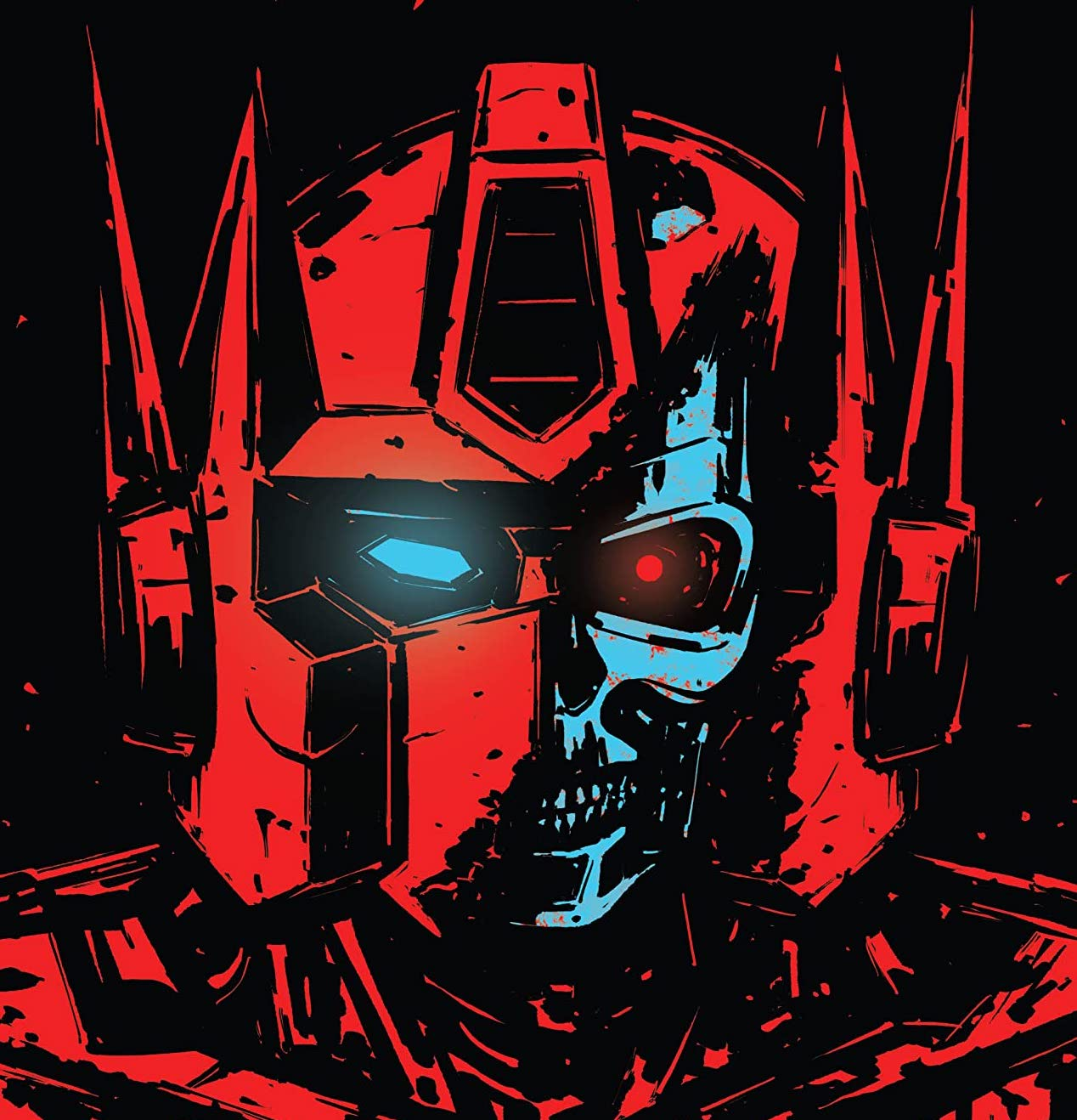 It's Skynet vs. Cybertron in a crossover for the ages!