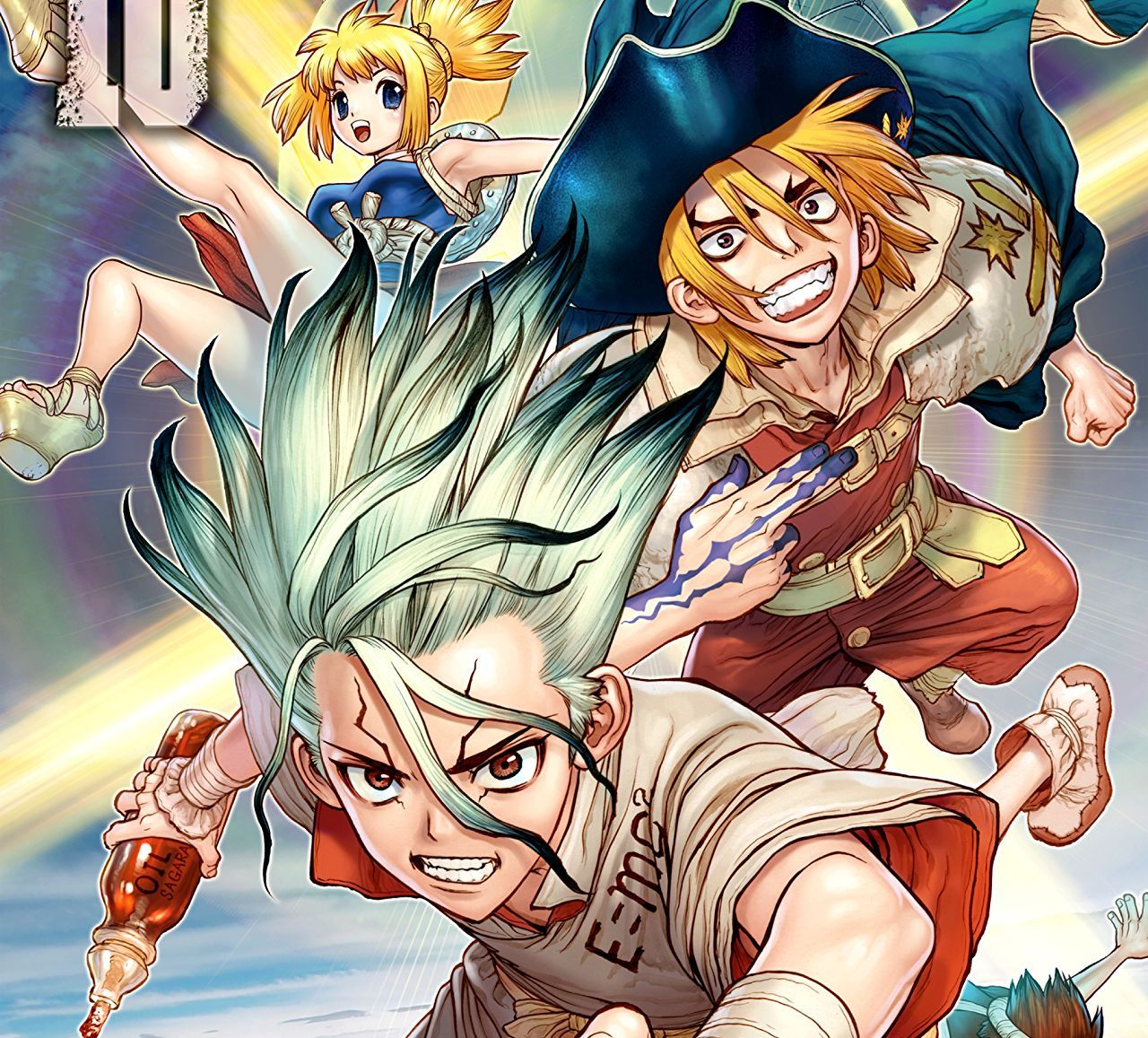 Dr. STONE Vol. 10 Review