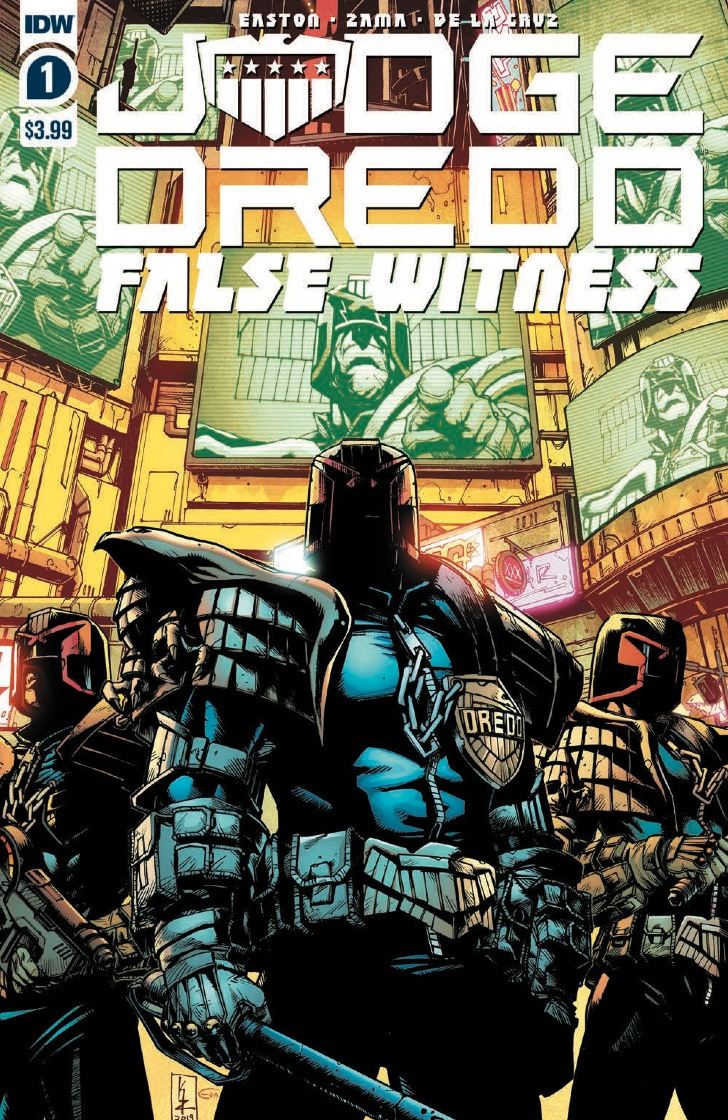 IDW Preview: Judge Dredd: False Witness #1