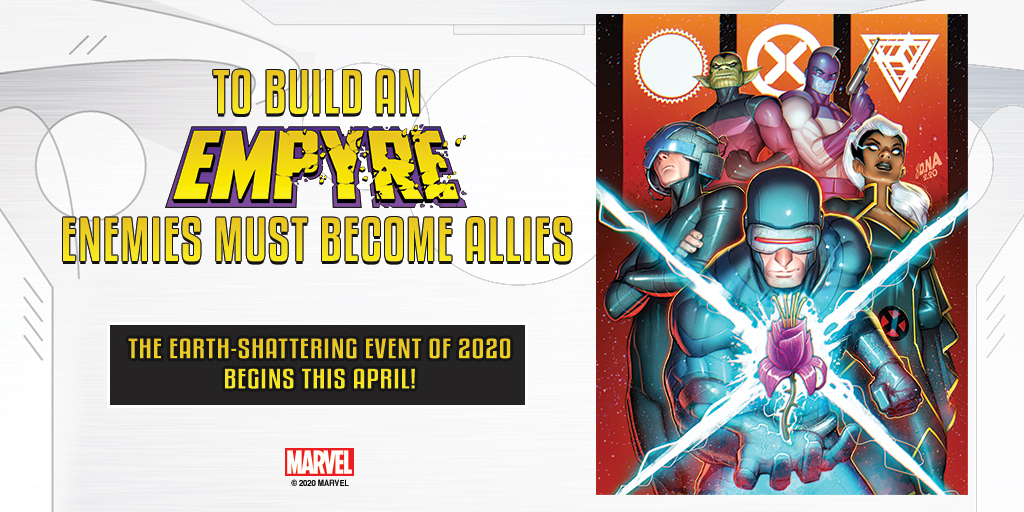 """Marvel Comics teases the X-Men in 'Empyre"""" may be allying themselves with the enemy"""