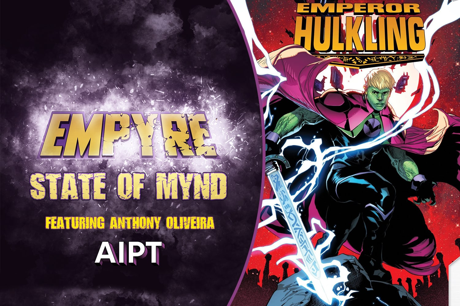 Fans get to ask Anthony Oliveira, co-writer of Lords of Empyre: Emperor Hulkling, their best questions.