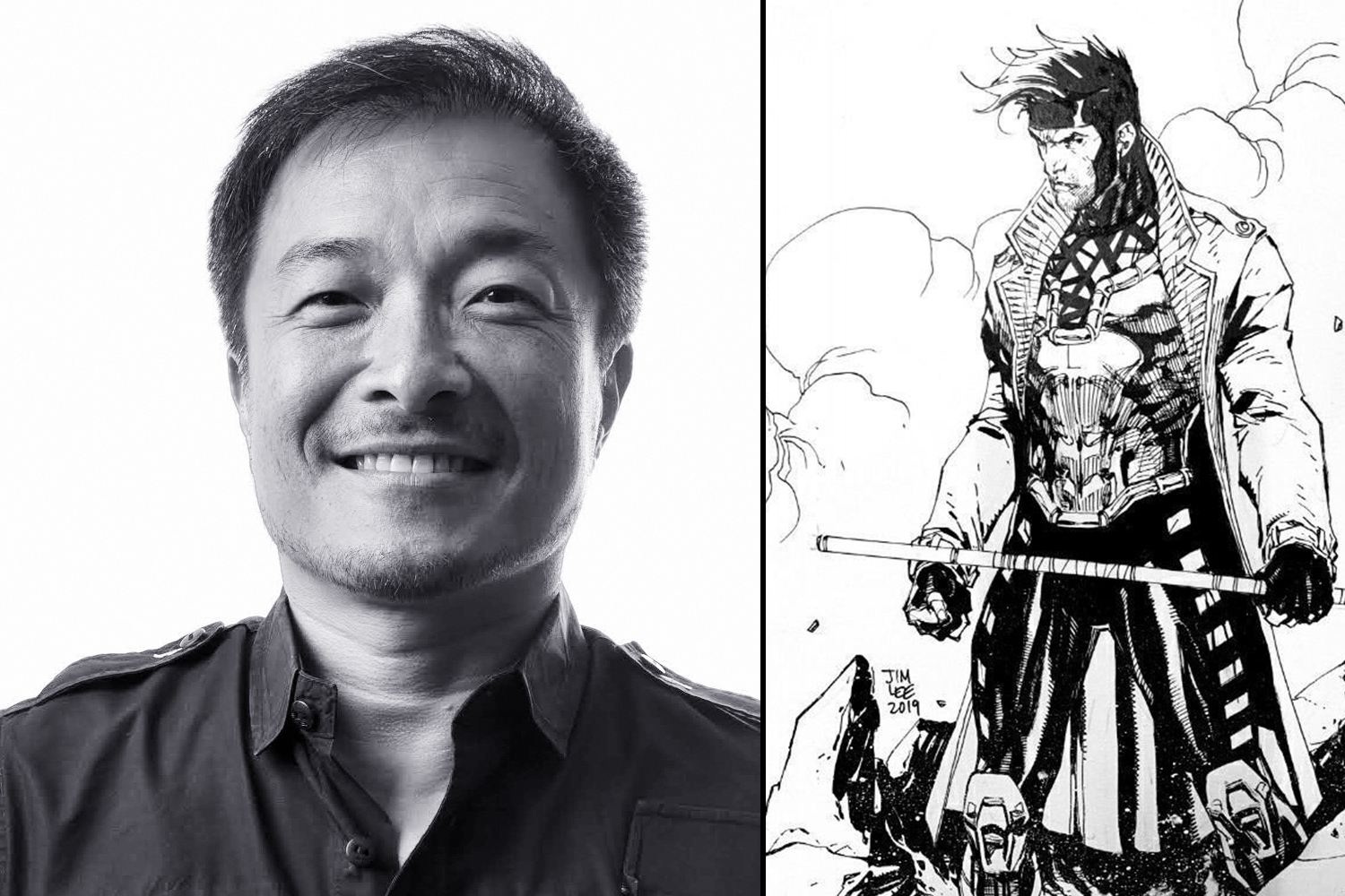 C2E2 day two: Jim Lee Spotlight panel - Talking his own origin, Dan Didio's exit, and X-Men's Gambit