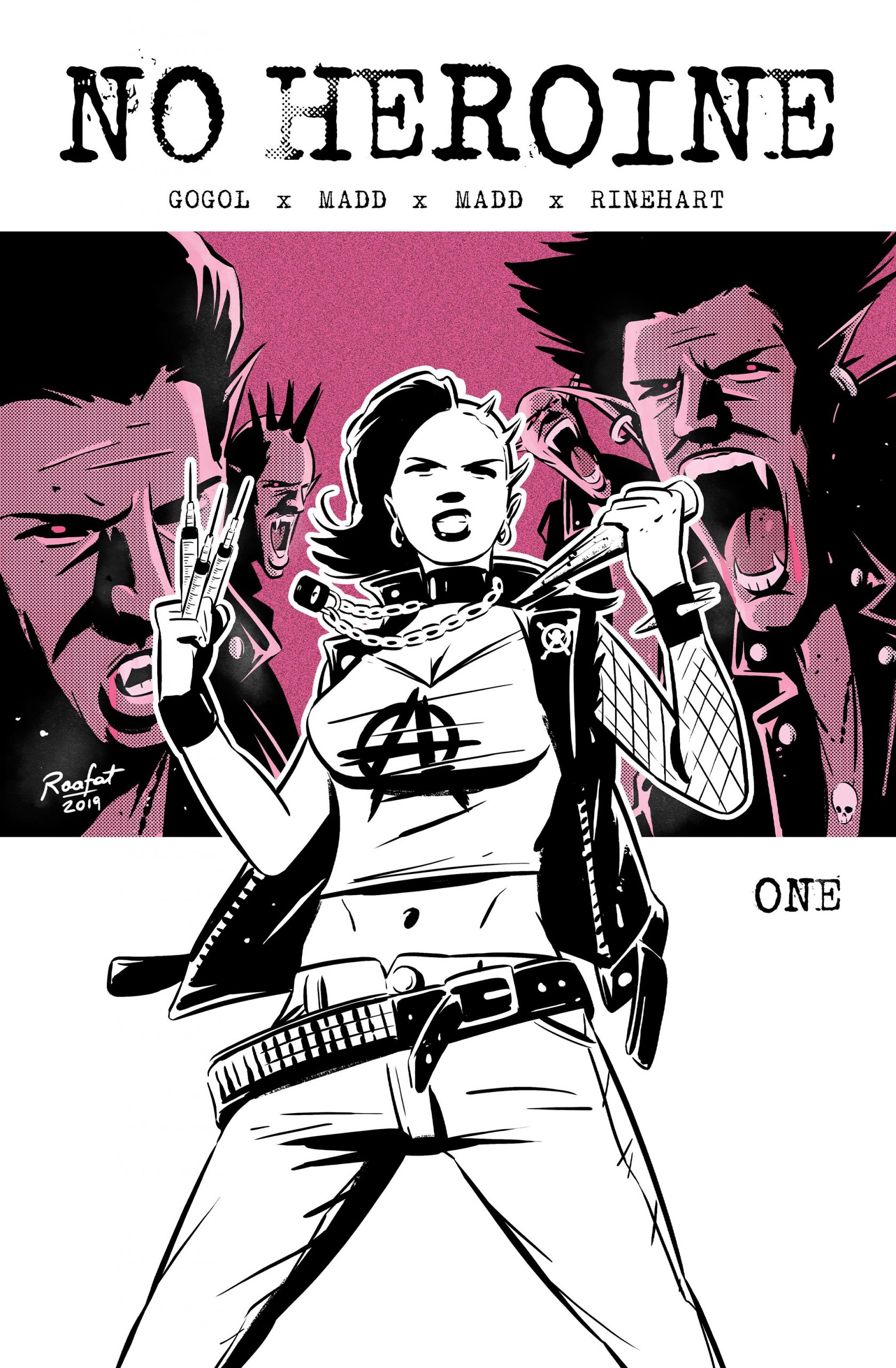 If Buffy and Tank Girl met somewhere in the middle.