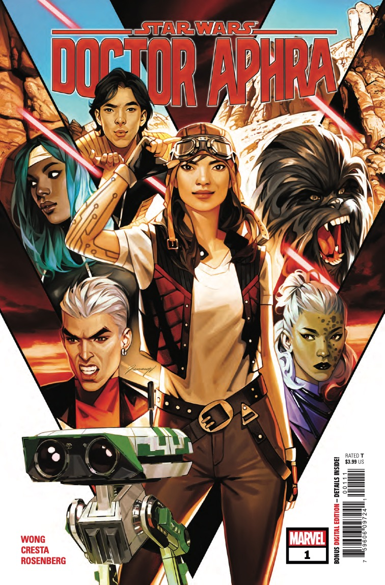 Star Wars: Doctor Aphra #1 getting early on-sale Monday, May 4 digital comic release in celebration of May the Fourth