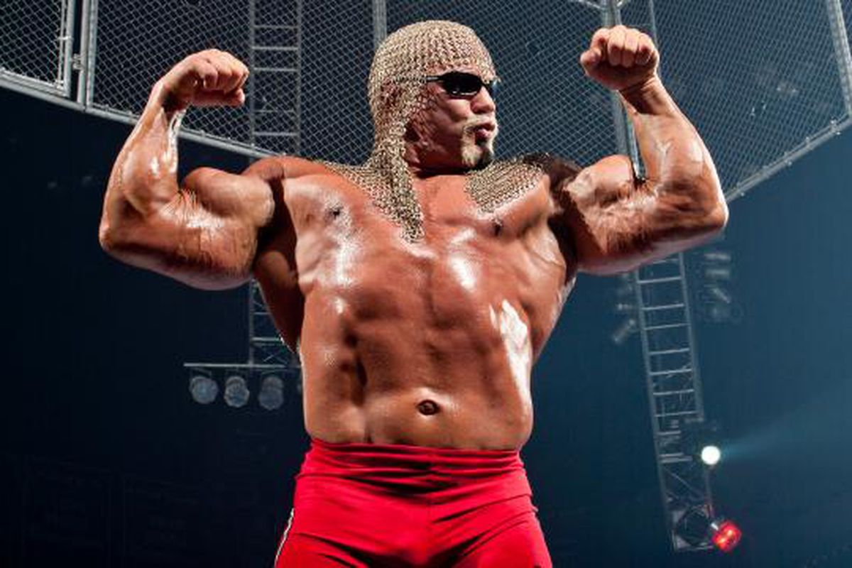 Scott Steiner collapses at Impact Wrestling tapings