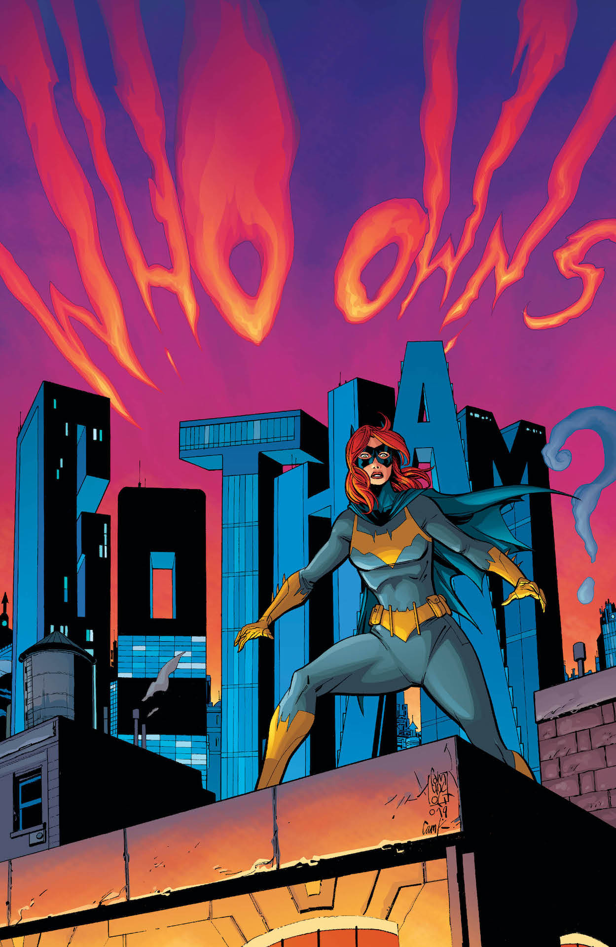 DC Preview: Batgirl #45