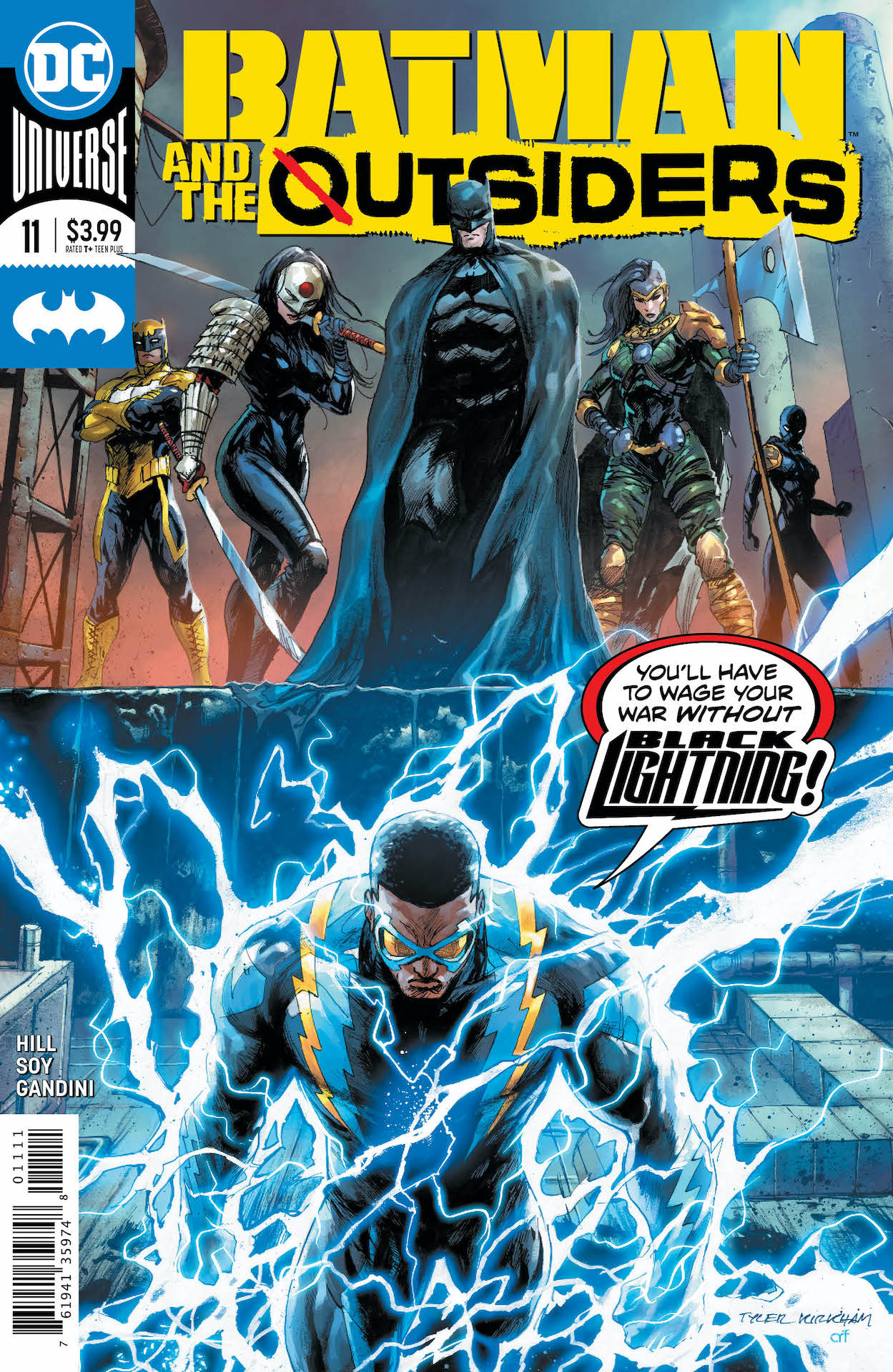 DC Preview: Batman and the Outsiders #11