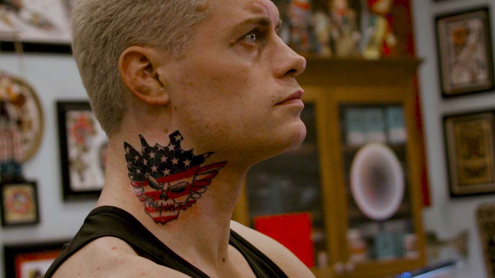 The biggest news out of AEW Revolution is Cody's neck tattoo