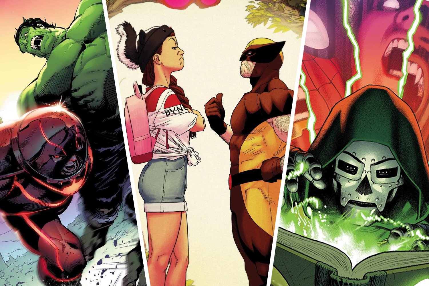 Get the scoop on new Marvel Snapshots titles, Steve Orlando's Darkhold Alpha, and more
