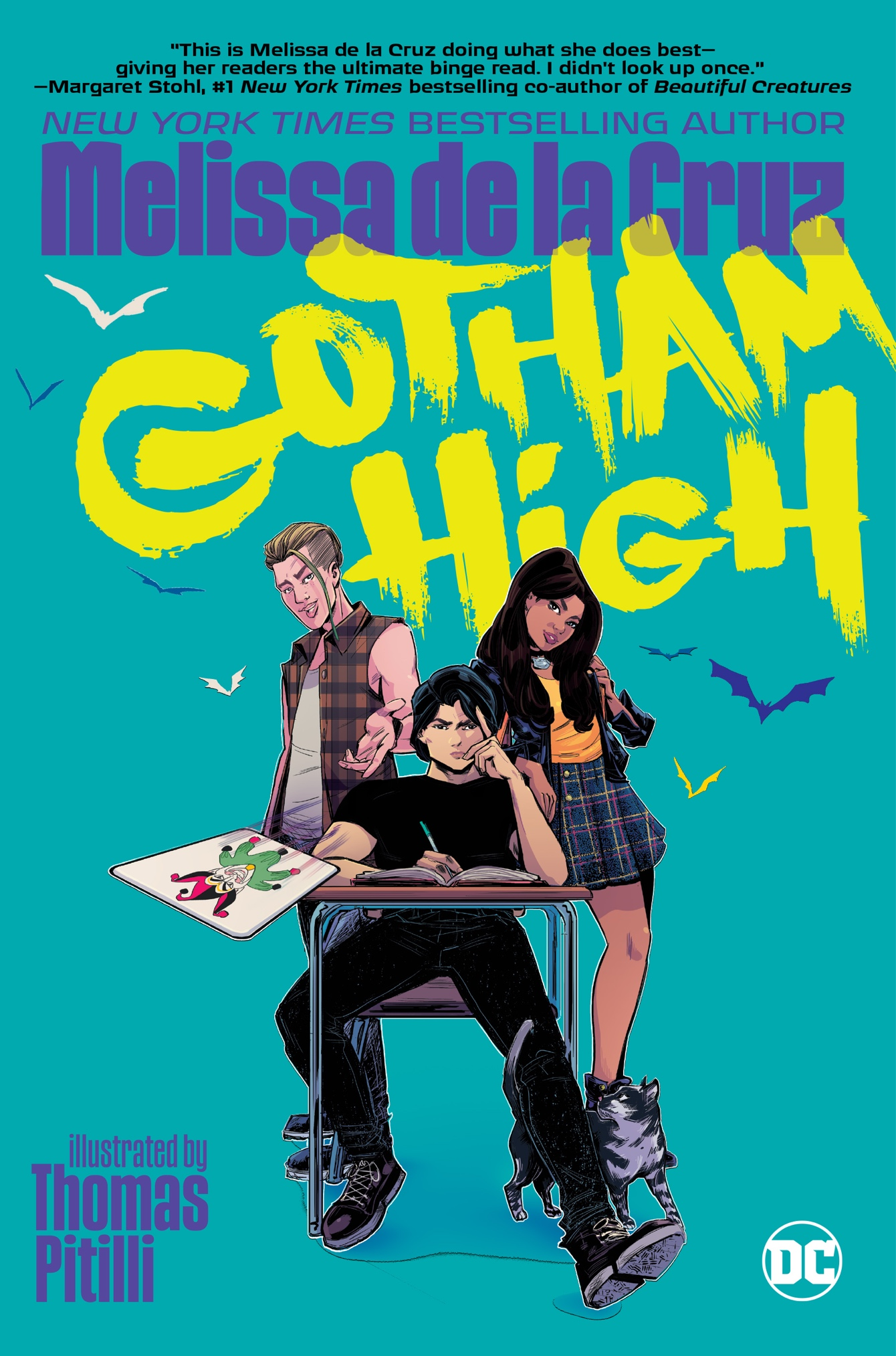 DC Comics debuts YA graphic novel 'Gotham High' trailer