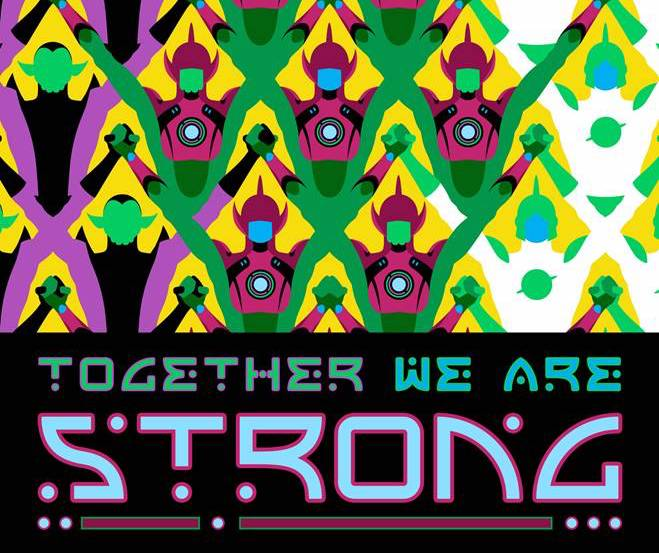 "Marvel reveals 'Empyre' propaganda teaser ""Together We Are Strong"""