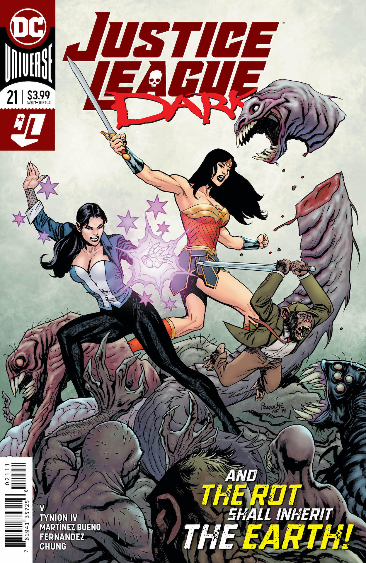 DC Preview: Justice League Dark #21