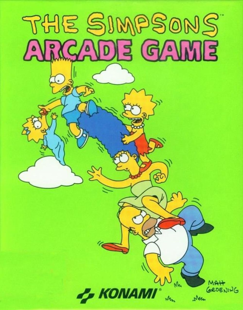 One of the best arcade games of the '90s.