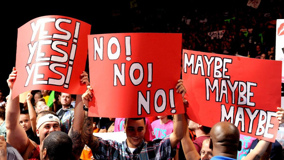 Around nine months ago, listlessly scrolling Twitter and feeling generally caught up on all of the TV shows, comic books, and video games I would normally prioritize over *checks notes* sports, I noticed that most -- if not all -- of the people I follow were tweeting about WWE. I had seen the likes of #RoyalRumble, #WrestleMania and others trend before, but these tweets seemed…different. They were, primarily, about how WWE fans were explicitly not going to be watching the newest pay-per-view, Super ShowDown, because it was held in Saudi Arabia (we'll get to that later). Out of admittedly very nerdy interest in the politics of media consumption, as well as out of wanting to check my biases about WWE and the promotion's fans in general, I watched the next Monday Night Raw.