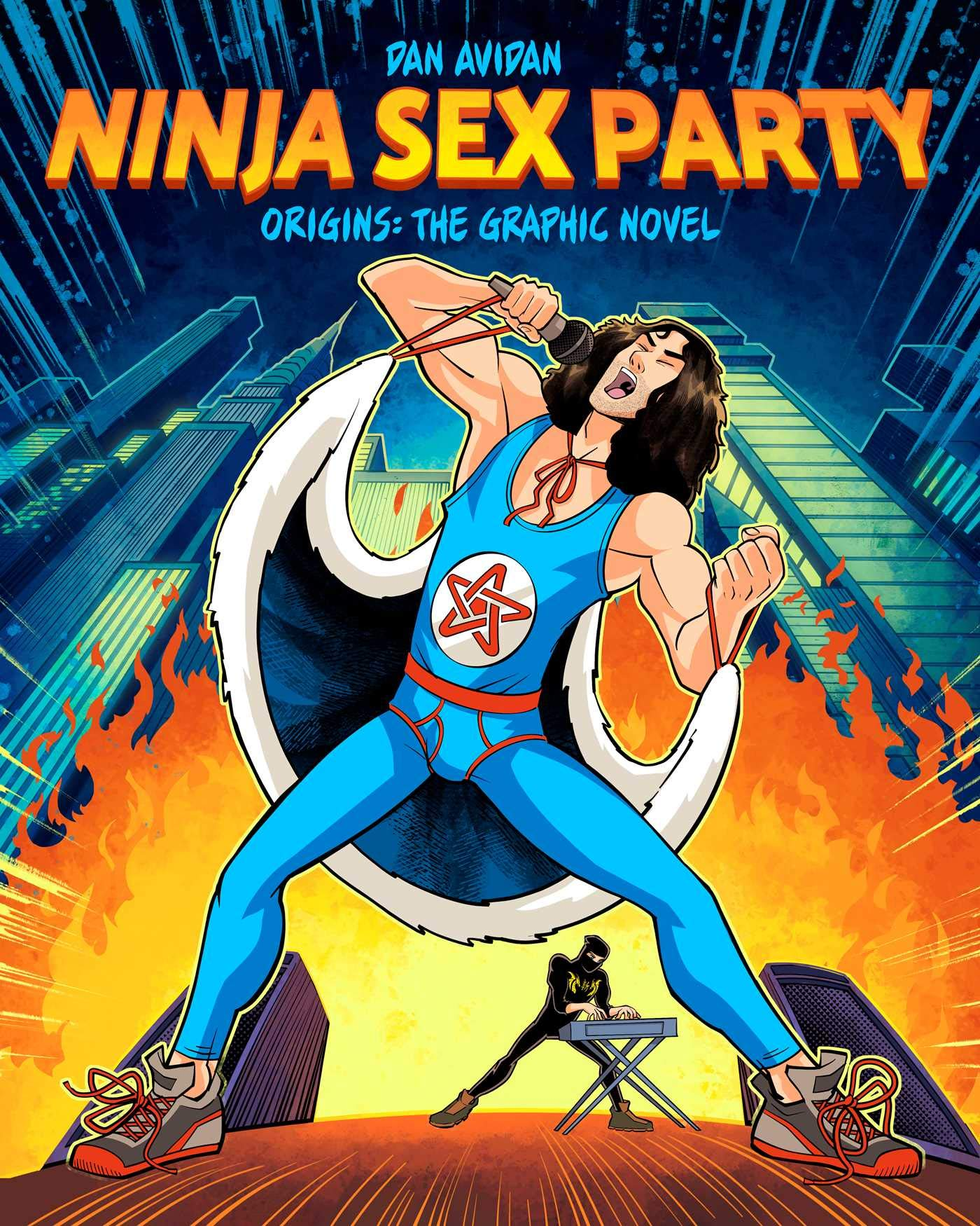Fantoons announces the official 'Ninja Sex Party' graphic novel out May 5th