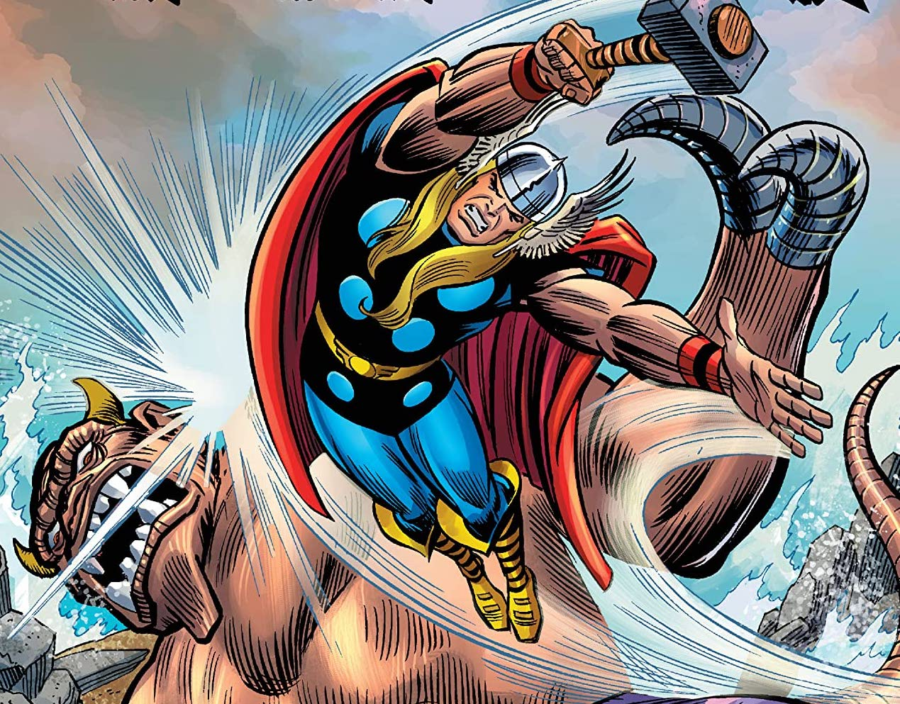 Relive the early '70s, God of Thunder style!